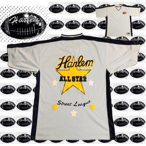 Harlem Street League Shirts - Men's Harlem Street League Blue/Yellow Jersey